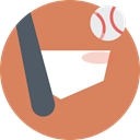bat, sports, baseball, Team Sports Peru icon