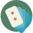 poker, Casino, gambling, Diamonds, gambler, Bet DimGray icon