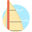 Boat, sailing boat, Yacht, transport, sports, sailing Moccasin icon