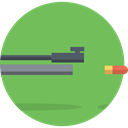 weapons, Target, Aim, shooting, sports, sniper DarkSeaGreen icon