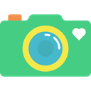 photograph, photo camera, picture, technology MediumSeaGreen icon