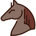 western, Animal, hair, Horsehair, head, Animals, horse DimGray icon
