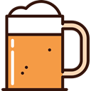 beer, Alcohol, Jug, food, western, Jar, Alcoholic Drinks SandyBrown icon