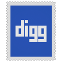 Digg DarkSlateBlue icon