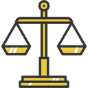 Tools And Utensils, scale, justice, Balance, measure, scales, law, Measurement Black icon