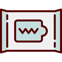 wipe, Wiping, Clean, hygiene, Tools And Utensils WhiteSmoke icon