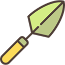 garden, Tools And Utensils, Agriculture, Trowel, equipment, gardening, Farm Black icon
