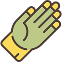 protections, Protectors, gloves, glove, Hand Tan icon