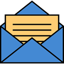 Message, envelope, Email, Letter, mail SteelBlue icon