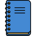 Address book, Business, Notebook, Agenda Icon