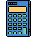 maths, calculator, Technological, technology, Calculating SteelBlue icon