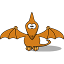 pterodactyl Black icon