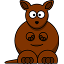 kangaroo SaddleBrown icon
