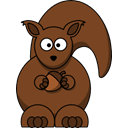 squirrel SaddleBrown icon