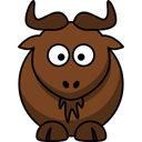 Gnu SaddleBrown icon