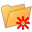 Folder, star SandyBrown icon