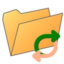 Folder, exchange SandyBrown icon