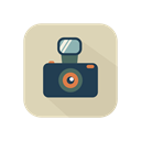 Photographer, square, reflex, photo camera, technology Black icon