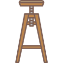 stool, Chair, Modern Stool, Stool Stand, Modern Chair, Chair Stand Icon