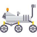 Mars Rover, Automobile, vehicle, transport, science Icon