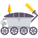 science, transport, Moon Rover, Automobile, vehicle Icon