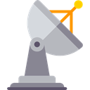 Satellite Dish, radar, technology, wireless, antenna Icon