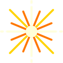science, Astronomy, star Black icon