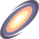 space, Astronomy, science, galaxy SlateGray icon