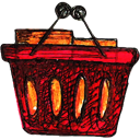 Basket Black icon