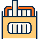 writing, Tools And Utensils, Chalk, Classroom, education Khaki icon