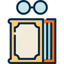 study, reading, education, Literature, Book, Library MidnightBlue icon