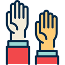 Man, Gestures, Hands, Gesture MidnightBlue icon
