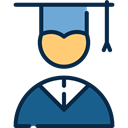 Graduate, education, people, Boy, mortarboard, Cap, Man Black icon