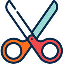 Cutting, Handcraft, scissors, Tools And Utensils, Cut MidnightBlue icon