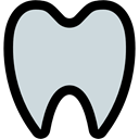 Teeth, Dentist, medical, tooth, Health Care LightGray icon