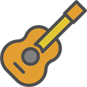 Orchestra, Acoustic Guitar, String Instrument, musical instrument, music, guitar Icon