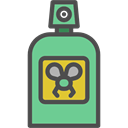 flies, Mosquitos, Bottle, Insect Repellent, Insecticide DarkSlateGray icon