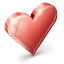 Heart IndianRed icon