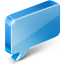 Chat CornflowerBlue icon