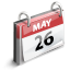 Calendar WhiteSmoke icon
