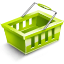 Cart YellowGreen icon