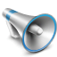 bullhorn DarkGray icon