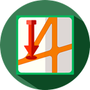 Orientation, location, placeholder, Map, Maps And Flags, position, Geography SeaGreen icon