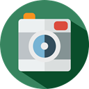 photo, photo camera, Camera, photograph, photography, technology SeaGreen icon