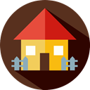 real estate, house, buildings, Home, Page SaddleBrown icon