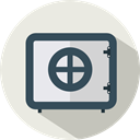 security, Bank, Safebox, Business, Tools And Utensils, Money Beige icon