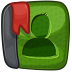 Contact OliveDrab icon