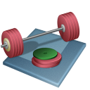 weightlifting Black icon