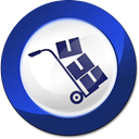 moving, relocation MidnightBlue icon