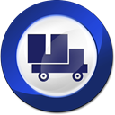 relocation, moving MidnightBlue icon